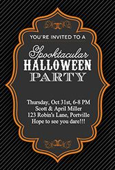 Click here to download tons of FREE Halloween party invites!