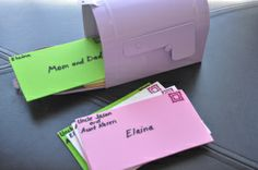 Busy Bag Activities - You've Got Mail