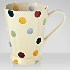 Buy Emma Bridgewater Polka Dot Cocoa Mug, 0.55L Online at johnlewis.com