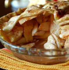 Mmm. I'm craving some mile-high apple pie.