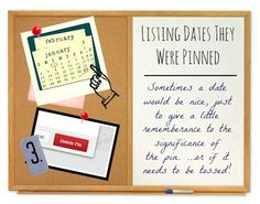 Pinterest Wish #3: Listing Dates Images Were Pinned | 10 Features I Wish Pinterest Would Grant Us.