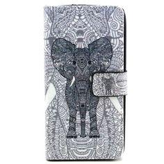 Housse Wiko Rainbow Éléphant Tribal