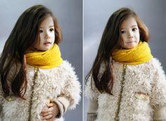 cutest little girl ever! half canadian half korean
