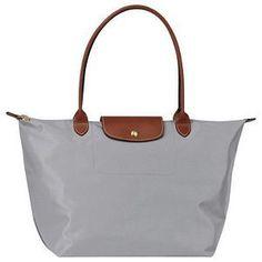 f0ebf6760e79 Longchamp Le Pliage Large Folding Tote Grey   Longchamp Outlet
