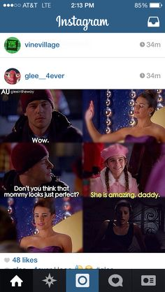 Glee this is so cute
