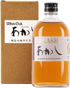 Akashi White Oak Japanese Whisky. This Japanese whisky, which was just recently released in the U.S., comes from the country's smallest #whisky distillery. | @Caskers