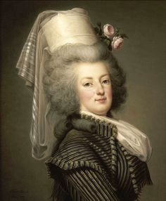Marie Antoinette of Austria, Queen of France (1755-1793), by A.Wertmüller in 1788 - Palace of Versailles