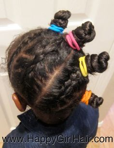 I Love this bantu knot style :)