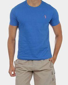 Camiseta Básica Aleatory Azul Royal - http://www.compramais.com.br/masculino/camisetas/camiseta-basica-aleatory-azul-royal/