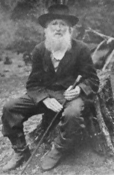 """William """"Uncle Billie"""" Killough ... last living survivor of the Killough Massacre of 1838.  It was the largest massacre of white immigrants in East Texas (18 killed).  They were attacked by Cherokees upon whose land the Killough family settled."""