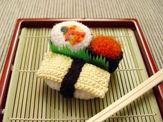 Amigurumi Sushi