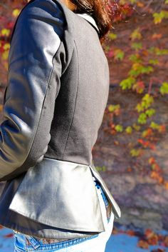 leather jacket for Fall and Winter is a must. Checkout where this one is from on www.nytrendymoms.com