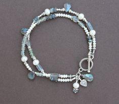 Strand Bracelet, Pearl Bracelet, Beaded Necklace, Beaded Bracelets, Tanzanite Bracelet, Garnet And Gold, Wedding Gifts For Bridesmaids, Beaded Jewelry Patterns, Wedding Bracelet