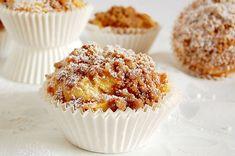 Apple muffins with cinnamon crust - Kuchen und Kekse - Dessert Baking Cupcakes, Cupcake Recipes, Cookie Recipes, Muffin Recipes, Pecan Recipes, Baking Recipes, Mini Desserts, No Bake Desserts, Cookies Et Biscuits