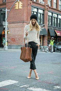 Street elegance..