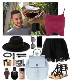"""""""Liam Payne #44"""" by ambere3love34 ❤ liked on Polyvore featuring Twin-Set, Topshop, Dolce&Gabbana, Mystique, Fendi, Maison Michel, Chanel, Alexander McQueen, MAKE UP FOR EVER and NARS Cosmetics"""