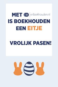e-Boekhouden.nl wenst iedereen een vrolijk Pasen toe! Wist je dat je bij e-Boekhouden.nl nooit lang hoeft te zoeken? Wij hebben al onze functies en mogelijkheden voor je op een rijtje gezet. Handig hè. Zo heb jij meer tijd om te zoeken naar paaseieren! 🐰🥚🌷