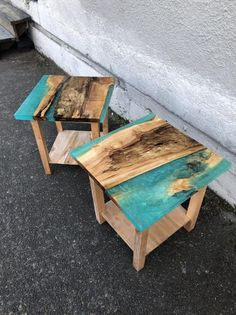 Diy Resin Table, Epoxy Table Top, Epoxy Wood Table, Epoxy Resin Table, Resin And Wood Diy, Diy Resin Crafts, Wood Crafts, Resin Furniture, Wood Creations