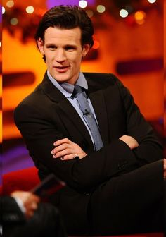 Matt Smith to appear on The Graham Norton Show, 10:00pm Saturday, December 24th on BBC America. For folks in the UK, it premieres Friday, December 23rd at 10:35p on BBC One.