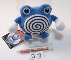 Poliwhirl Quaputzi Tetarte Pokemon Center Plush Doll.with the bonus item From jp #PokemonCenter