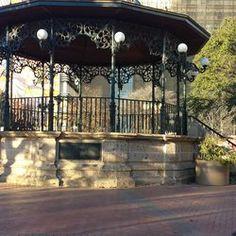 Gazebo in Milam Park, San Antonio TX, right by Market Square