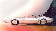 J.R.Samsen – the 1971 'Cuda Two passenger designed in 1968