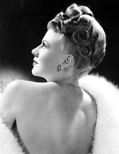 Ginger Rogers, mid-1940s. 21 notes