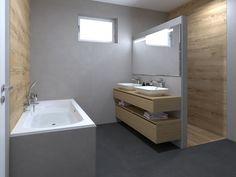 3D lárványterv Marca Corona Arkistone és Novabelle Eiche burkolattal #3dlátványterv #3dlátványtervezés #baustyl #lakberendezes #lakberendezesiotletek #stylehome #otthon #homedecor #inspiration #design #homeinspiration #interiordesign #interior #elevation #3dplan #bathroom #MarcaCorona #Novabelle #tiles Coron, 3d Visualization, Bathroom Lighting, Bathroom Ideas, Vanity, Mirror, Furniture, Home Decor, Oak Tree