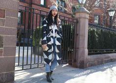 streetofstyle:  Hannah Bronfman   www.fashionclue.net| Fashion...