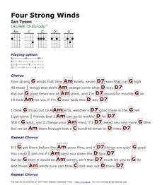 Four Strong Winds (Ian Tyson) - http://myuke.ca