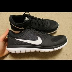 Nike Flex running shoes 2015 Brand new, never worn! Black size 9.5 Nike Shoes Sneakers