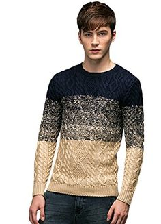 Minibee Men's Rope Figure Color Block Knitted Sweater Pullovers Navy Blue S Minibee http://www.amazon.com/dp/B015C3W7UK/ref=cm_sw_r_pi_dp_OXJ9vb0RKST64