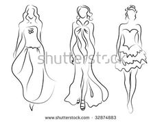 Image result for womens fashion head illustration