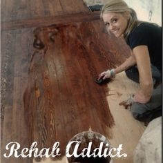 Rehab Addict, Nicole Curtis ~ DIY Network. I like how she's not afraid to get dirty and do the work!