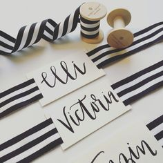 Ribbon Name Tags