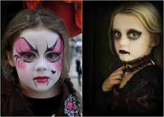 maquillage vampire fille-coloré