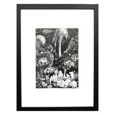 Moomin Print - Banquet. — zanders and sons