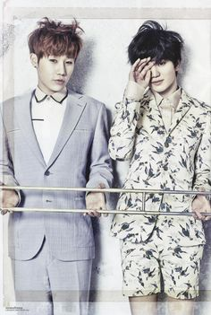 Sunggyu & Sungjong [Infinite]