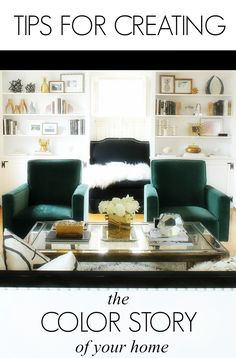 3 tips for creating a color story for your entire home via Bliss at Home