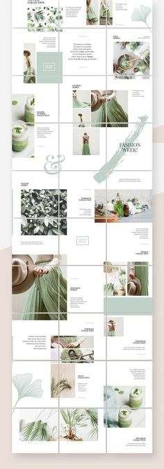 Beautiful logos, web design kits and watercolors by SwitzerShop Instagram Feed Ideas Posts, Instagram Feed Layout, Feeds Instagram, Instagram Grid, Instagram Post Template, Instagram Banner, Grid Design, Web Design, Layout Design