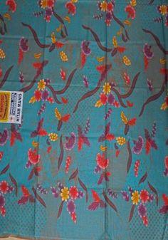 Kain Batik Pekalongan HM-03-Toska