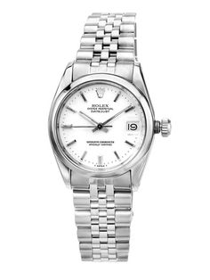 Women's Rolex Oyster Perpetual Date Just Watch. I've to admit that....that's craziness!!!!!!