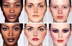 Antes e Depois Maquiagem de Maquiagem