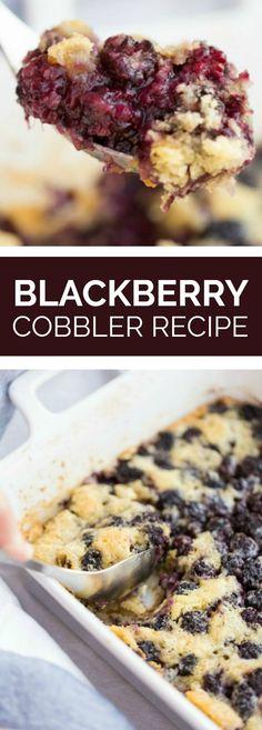 Blackberry Cobbler R