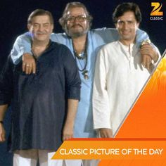 with SHAMMI AND SHASHI KAPOOR