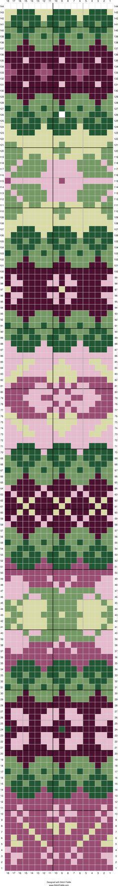 Stitch Fiddle is an online crochet, knitting and cross stitch pattern maker. - Stitch Fiddle is an online crochet, knitting and cross stitch pattern maker. Fair Isle Knitting Patterns, Knitting Charts, Loom Patterns, Knitting Stitches, Stitch Patterns, Sock Knitting, Vintage Knitting, Free Knitting, Knitting Machine