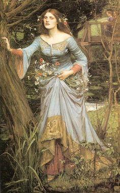 John Waterhouse: Ophelia 1910