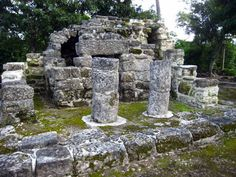 Mayan ruins - San Gervasio - Cozumel Mexico