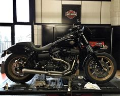 """Our First Dyna Low Rider """"S"""" is nearly ready for road test and it looks awesome…"""