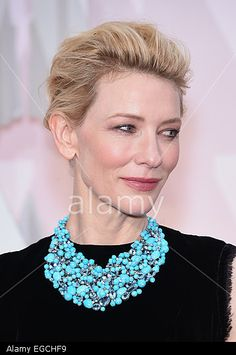 CATE BLANCHETT on the red carpet during arrivals for the 87th Academy Awards Hollywood, California, USA. 22nd Feb, 2015. © ZUMA Press, Inc. / Alamy